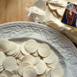 Corzetti or Croxetti pasta from Liguria