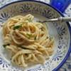 Creamy Linguine Pasta al Limone from Campania