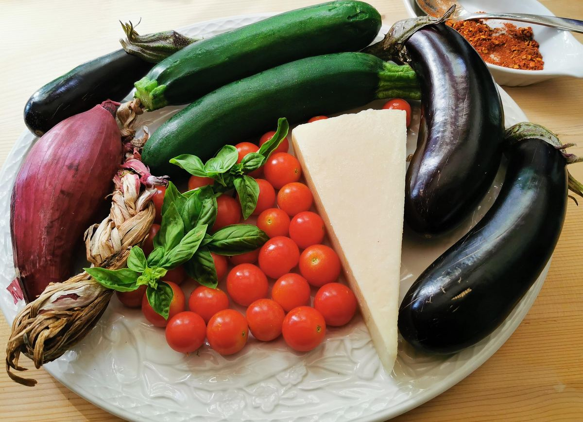ingredients for fileja tropeana