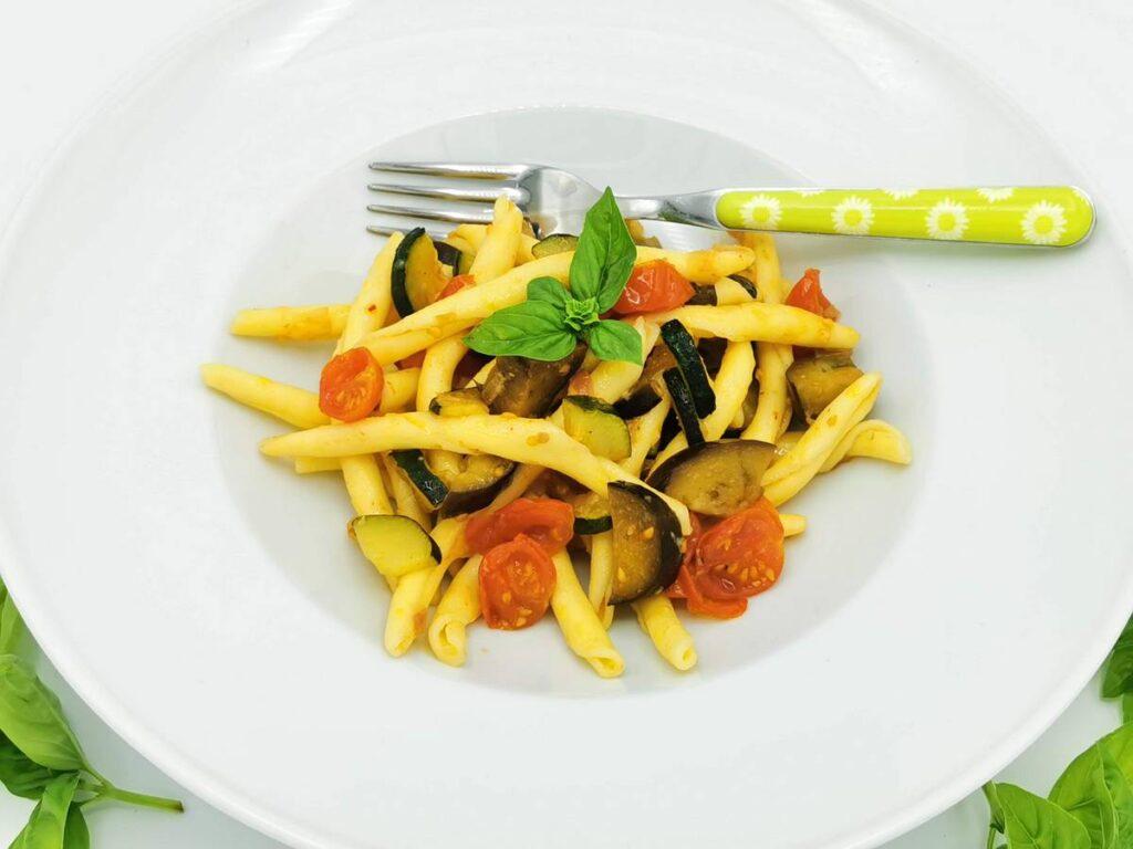 Fileja Tropeana pasta recipe from Calabria