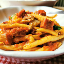 Fileja pasta alla Silana from Calabria