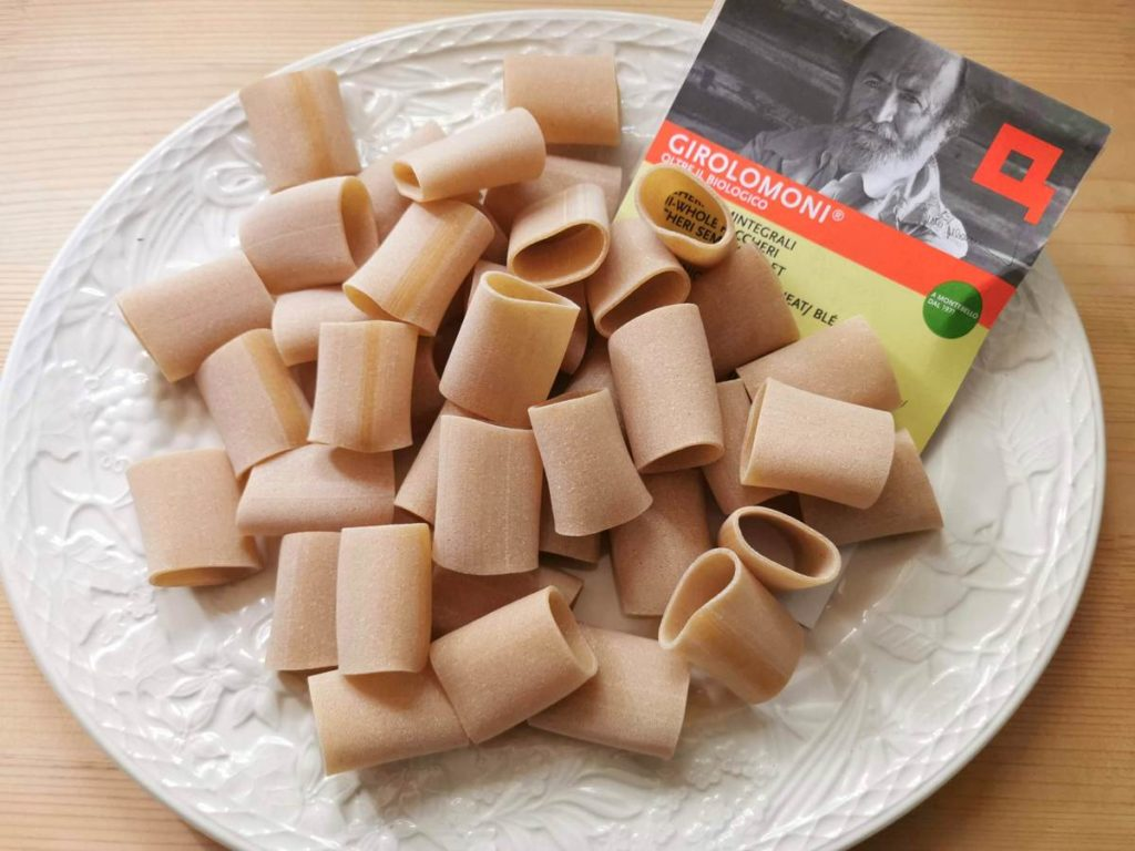 Girolomoni semi whole wheat paccheri pasta