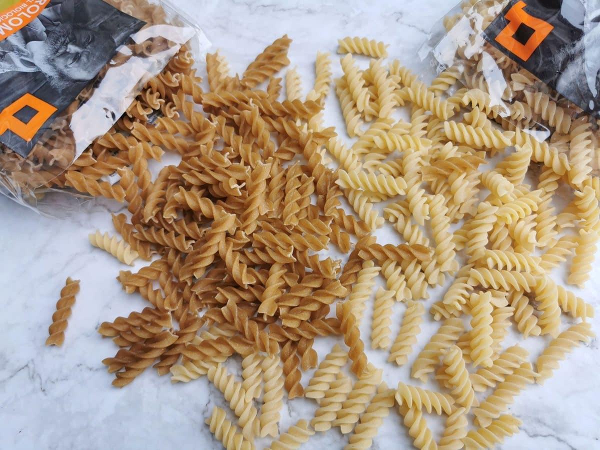 girolomoni whole wheat and ancient grains cappelli organic fusilli