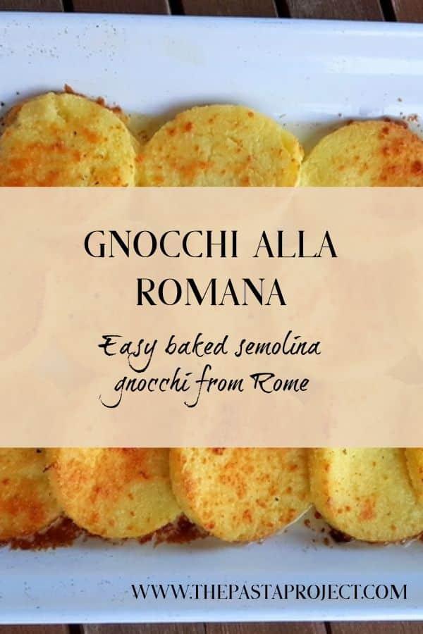 Gnocchi alla Romana
