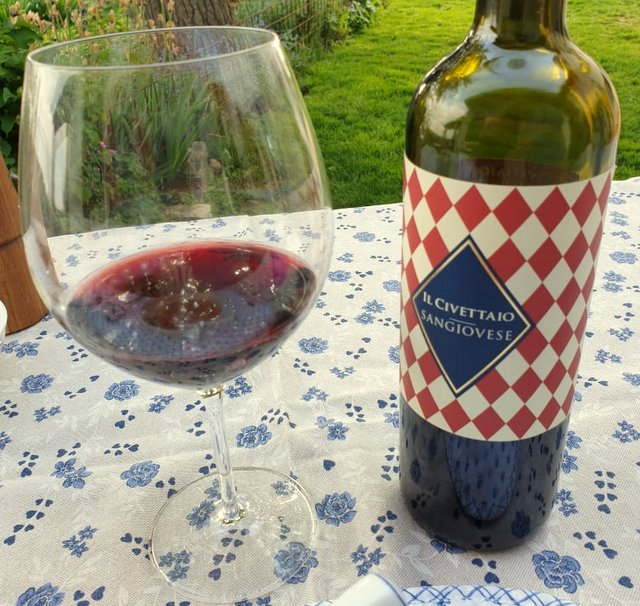 Il Civettaio Sangiovese red wine from Tuscany