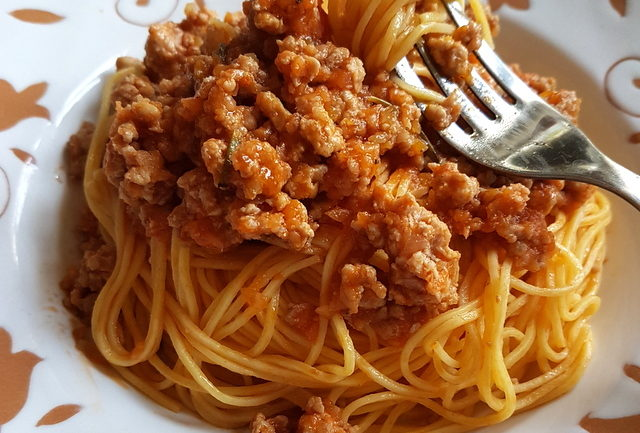 Maccheroncini di Campofilone pasta with Marchigiano ragu