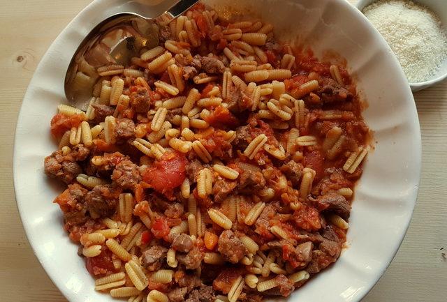 Malloreddus with lamb ragu (Sardinian gnocchi)