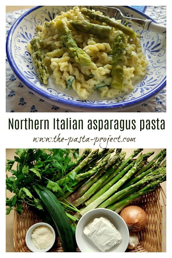 Italian asparagus pasta