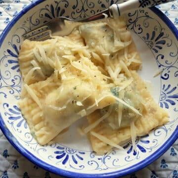 Ofelle alla Triestina (Gnocchi Ravioli)