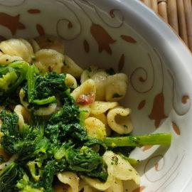 Orecchiette with Broccoli Rabe (rapini)
