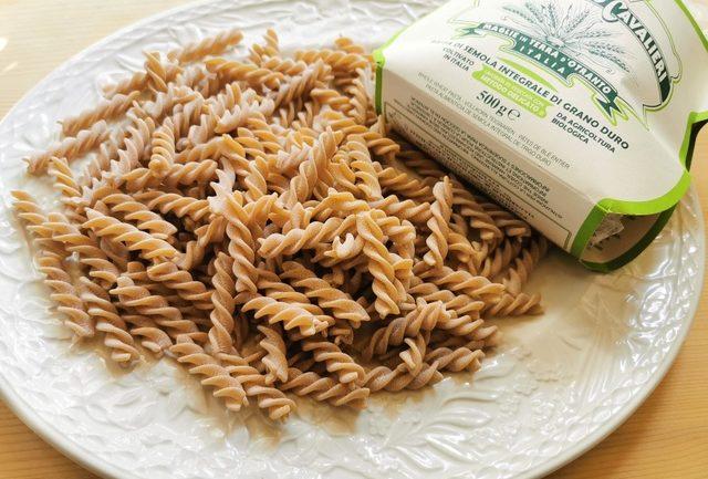 organic whole wheat fusilli Benedetto Cavalieri