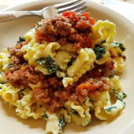 Pasta tordellata recipe from Tuscany