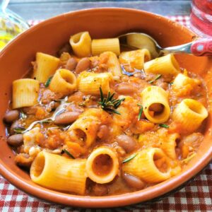 pasta with beans