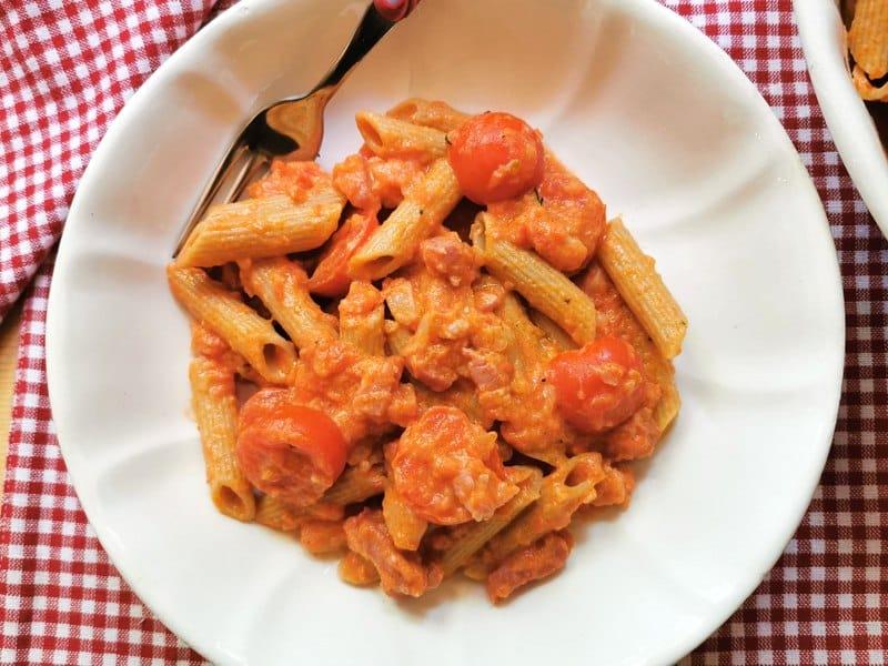 pasta with vodka sauce