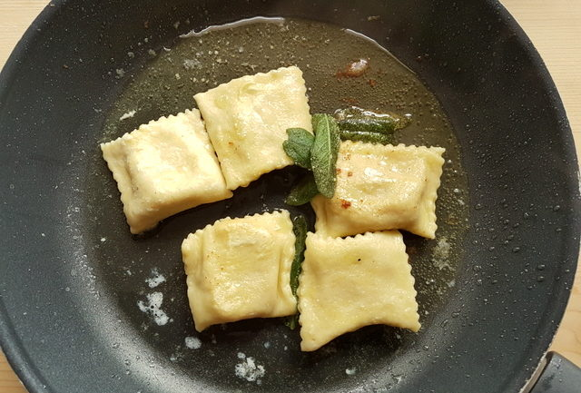 Pumpkin Tortelli; recipe from Mantova