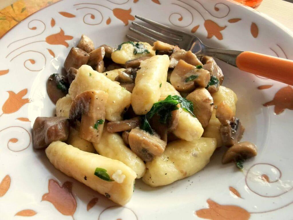 ricotta gnocchi from Piemonte
