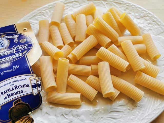 Rigatoni from pasta maker Giuseppe Cocco