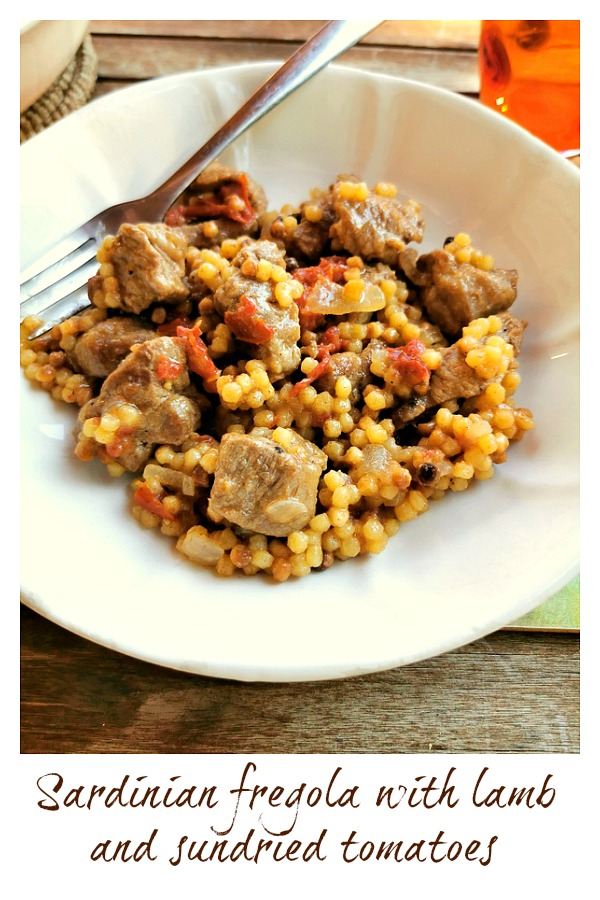 Sardinian fregola with lamb