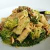 Sicilian Broccoli Pasta with Sausage and Chard.