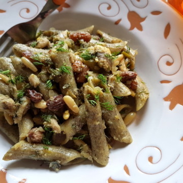 Sicilian Pasta with Sardines and Wild Fennel