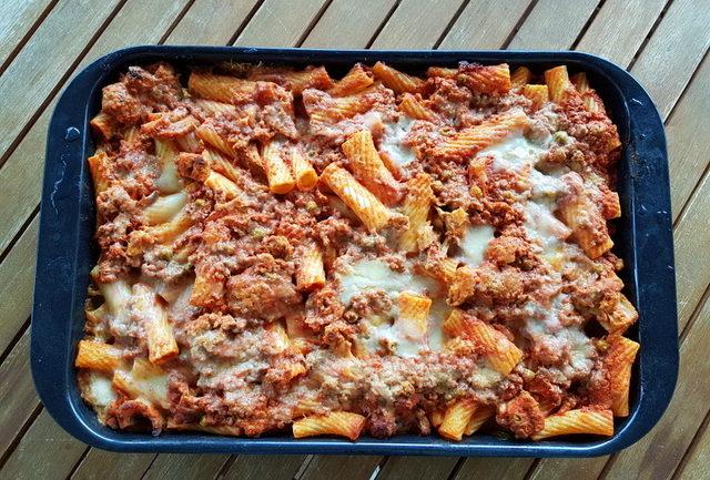 Sicilian baked pasta al forno