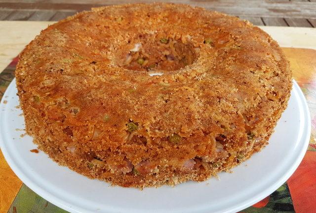 Sicilian baked anelletti timballo