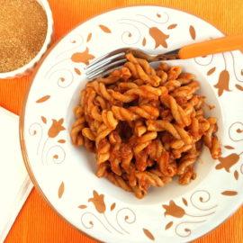 Sicilian pesto pasta meal kit with Hyblaean pesto