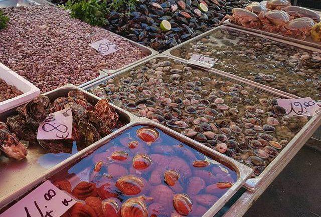 Sicily fish market Catania