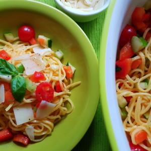 summer tagliolini recipe