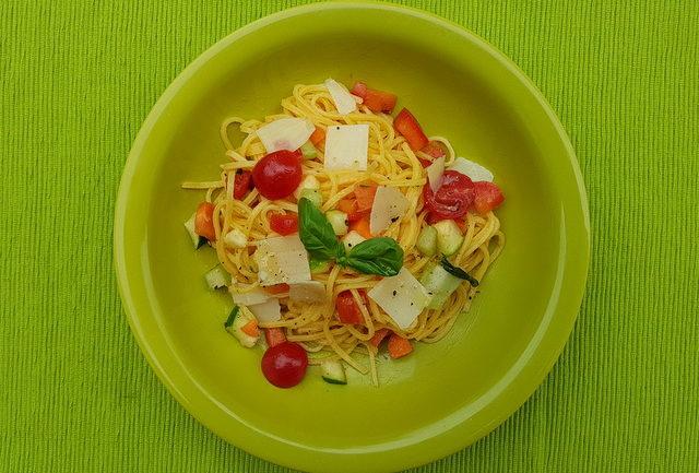 Summer Tagliolini Pasta Recipe