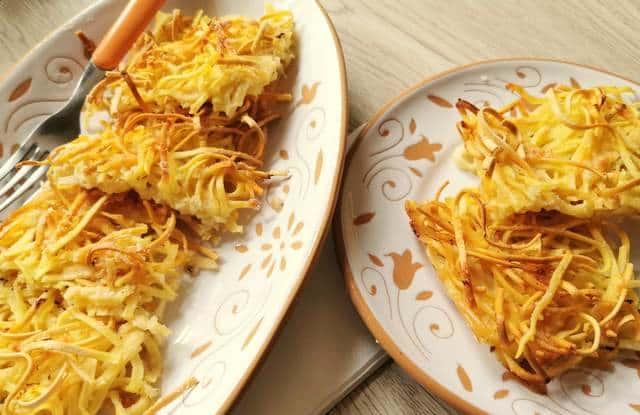 tagliolini baked in broth (bassotti)
