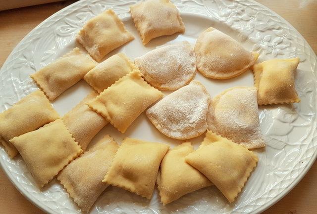 Tortelli and ravioli