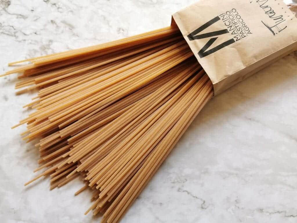 Turanicum spaghetti from Pasta Mancini