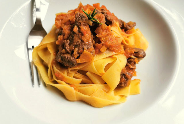 Tuscan Wild Boar Ragu with Pappardelle Pasta – The Pasta Project