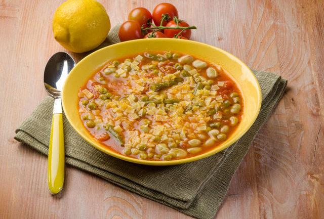 quadrucci pasta soup