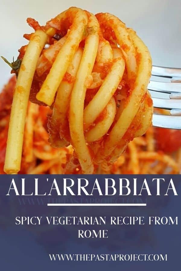 Arrabbiata from Rome