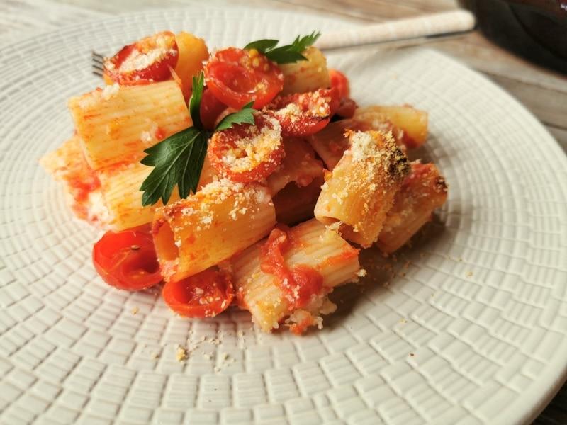 baked pasta alla Tranese pasta recipes from Puglia