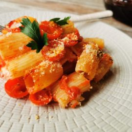 baked pasta alla Tranese recipe from Puglia