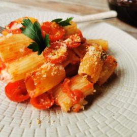 baked pasta alla Tranese recipe from Puglia