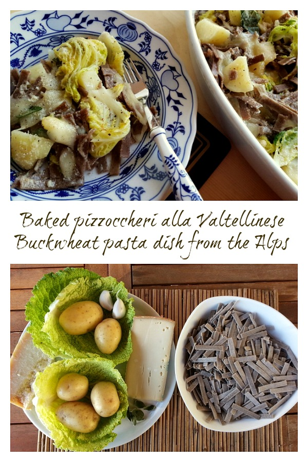 baked pizzoccheri alla Valtellinese