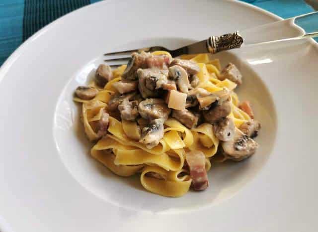 tagliatelle alla Castellana recipe from Trentino-Alto Adige