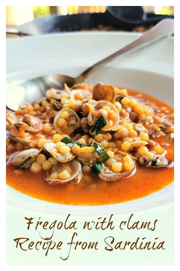 fregola with clams (long image)