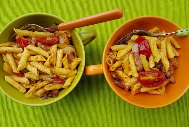 Emilia-Romagna pasta recipe garganelli pasta with Romagna shallots