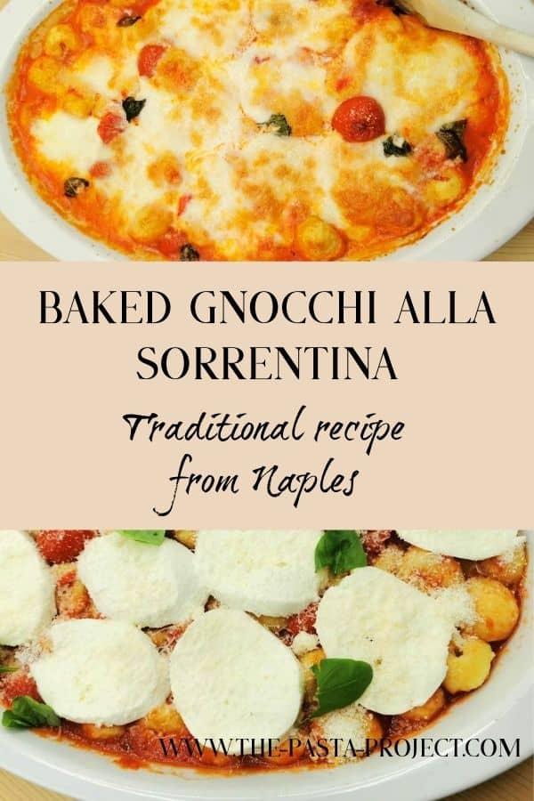 Baked gnocchi alla Sorrentina