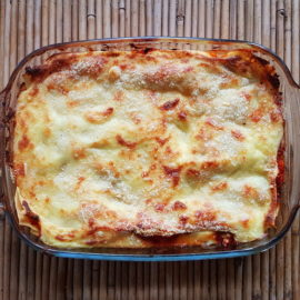 lamb lasagna ready to eat