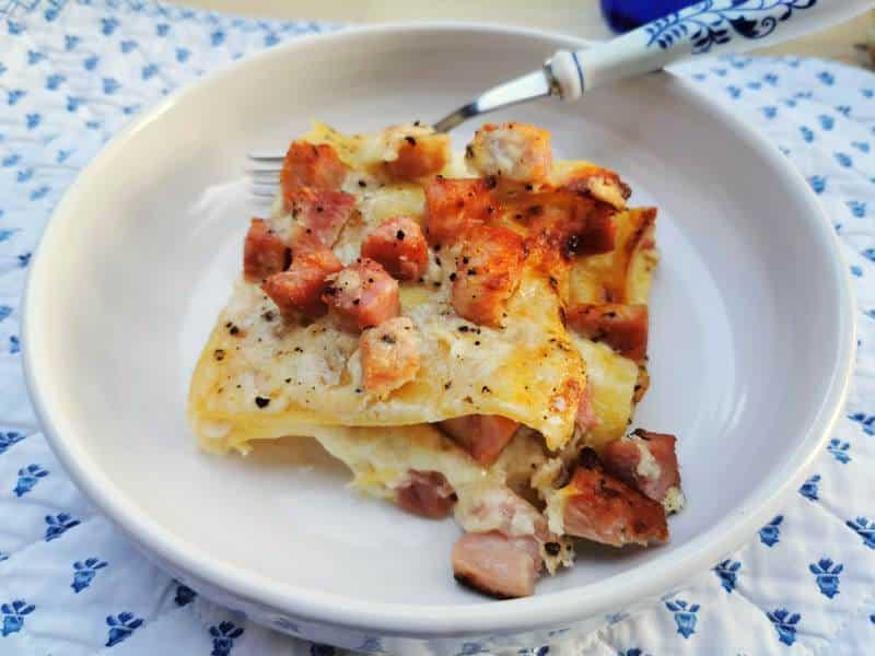 lasagne alla Valdostana