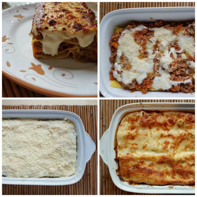 lasagne al forno with bolognese ragu