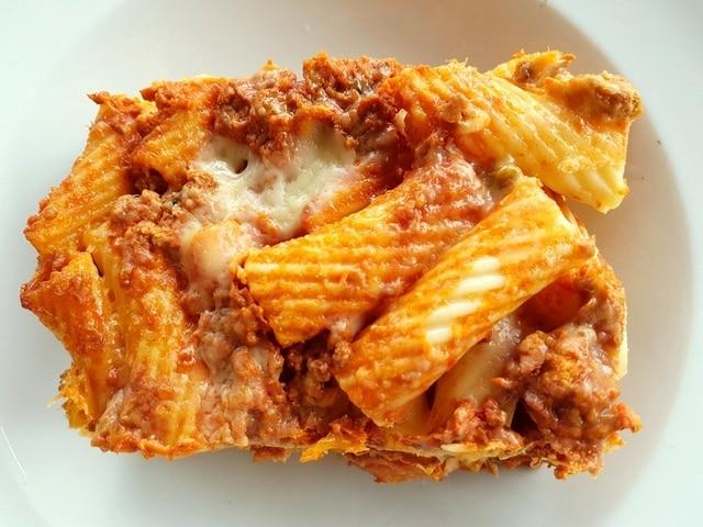 Sicilian pasta al forno