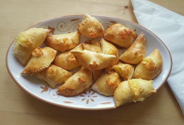 piconi ascolani baked ravioli from Marche