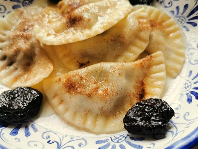 Prune and Fig Cjarsons di Pontebba Sweet Ravioli from Friuli Venezia Giulia